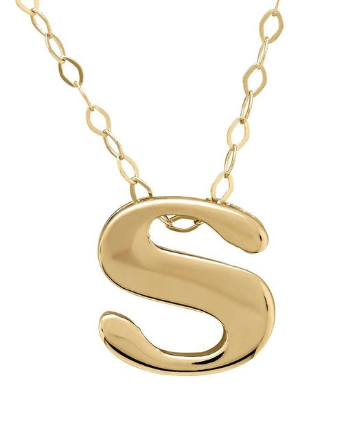 Lord & Taylor | Metallic 14k Gold Pendant Necklace | Lyst