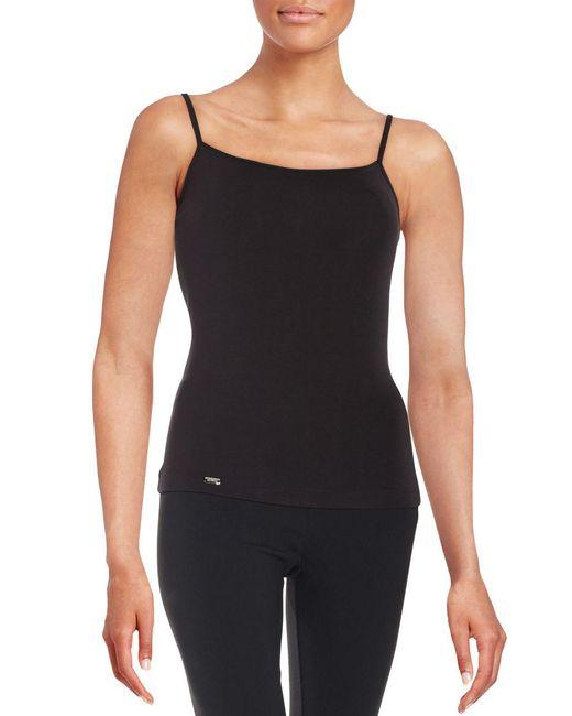 La Perla - Black Solid Camisole - Lyst