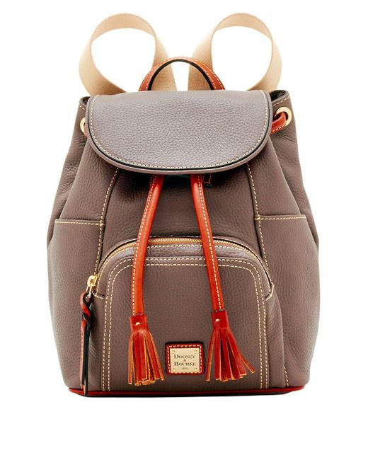 Dooney & Bourke - Multicolor Pebble Grain Leather Medium Murohy Backpack - Lyst