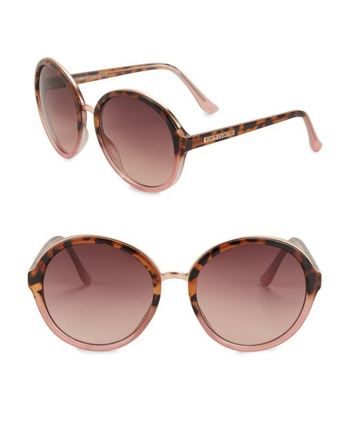 Vince Camuto - Brown 64mm Pantos Sunglasses - Lyst