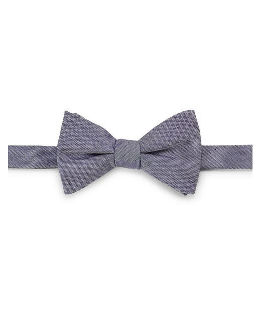 Cole Haan - Blue Silk-linen Bow Tie for Men - Lyst