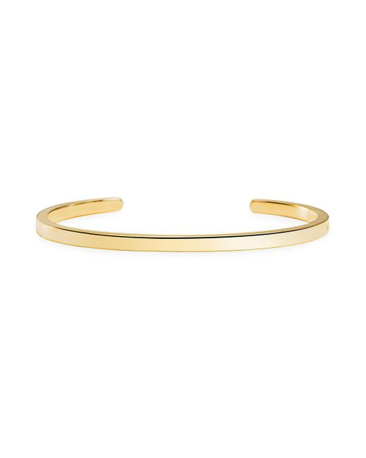 Michael Kors - Metallic Custom Kors 14k Goldplated Insert Bracelet - Lyst