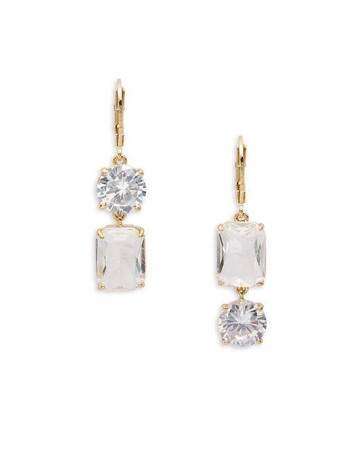 Kate Spade - Metallic Shine On Geo-shaped Drop Earrings - Lyst
