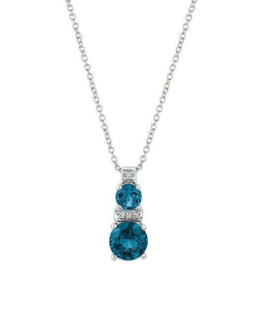 Le Vian - London Blue Topaz And 14k Vanilla Gold Pendant Necklace - Lyst