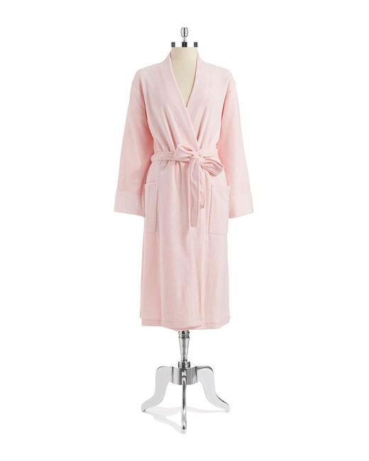 N Natori - Pink Open Front Robe - Lyst