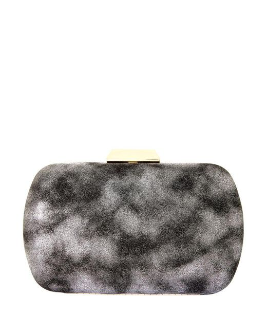 Natasha Couture - Gray Solid Convertible Clutch - Lyst