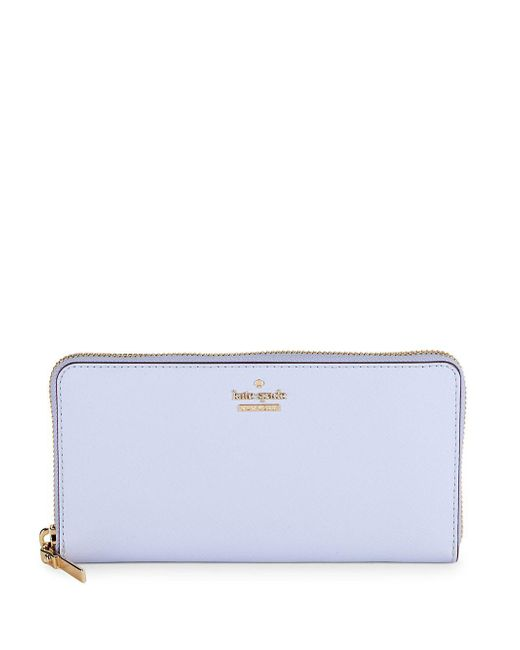 Kate Spade - Multicolor Lacey Leather Zip-around Wallet - Lyst
