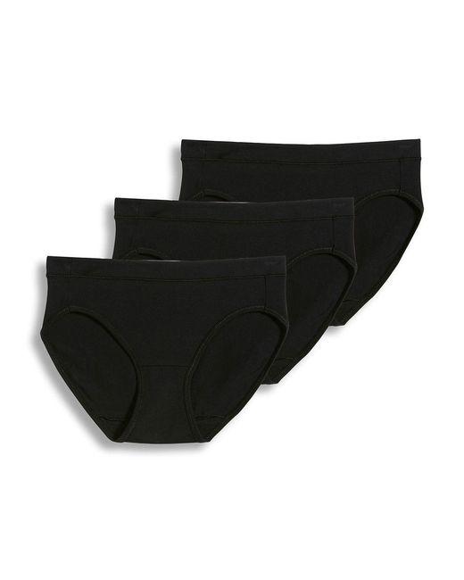 Jockey - Black Cotton Stretch Hipster - 3 Pack - Lyst