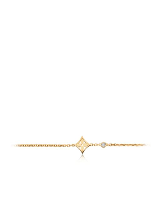 Louis Vuitton | Idylle Blossom Bracelet, Yellow Gold And Diamond | Lyst