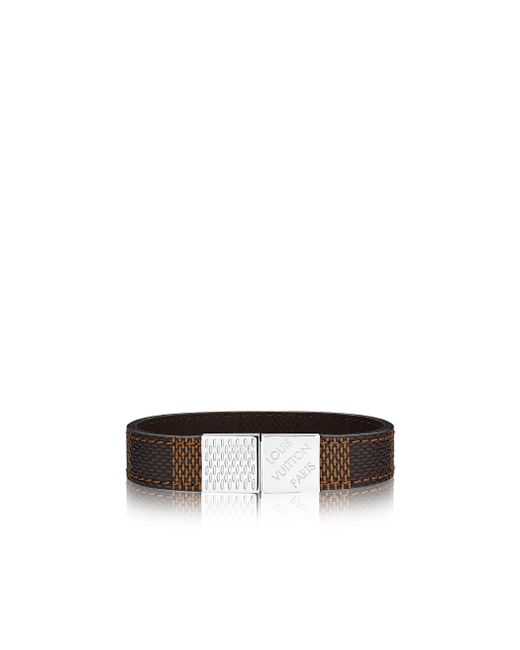 Louis Vuitton | Brown Pull It Bracelet for Men | Lyst