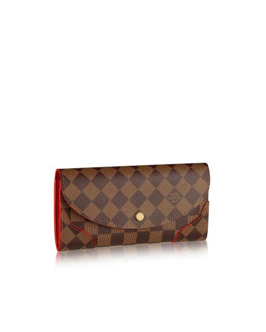 Louis Vuitton | Brown Caïssa Wallet | Lyst