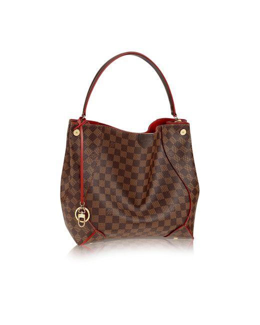 Louis Vuitton | Brown Caïssa Hobo | Lyst