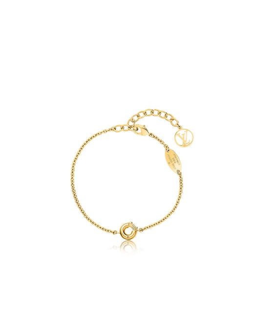 Louis Vuitton | Metallic Lv & Me Bracelet, Letter O | Lyst
