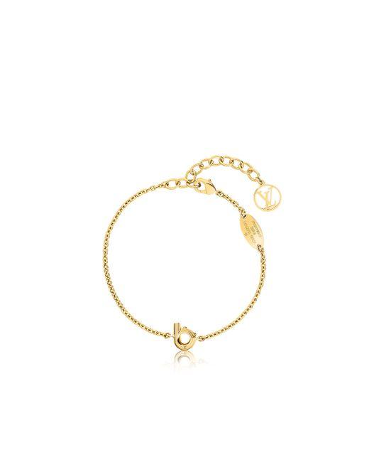 Louis Vuitton | Metallic Lv & Me Bracelet, Letter B | Lyst