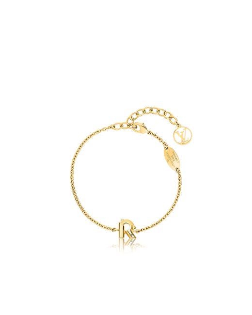 Louis Vuitton | Metallic Lv & Me Bracelet, Letter R | Lyst