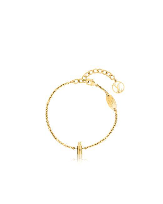 Louis Vuitton   Metallic Bracelet - Vintage   Lyst