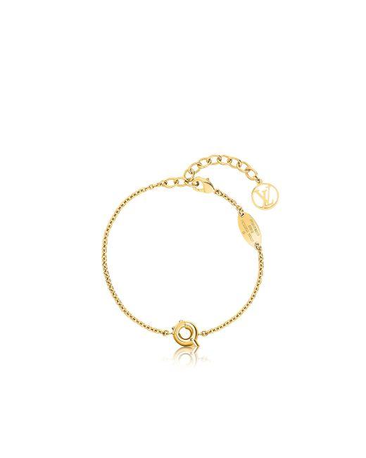 Louis Vuitton | Metallic Lv & Me Bracelet, Letter Q | Lyst