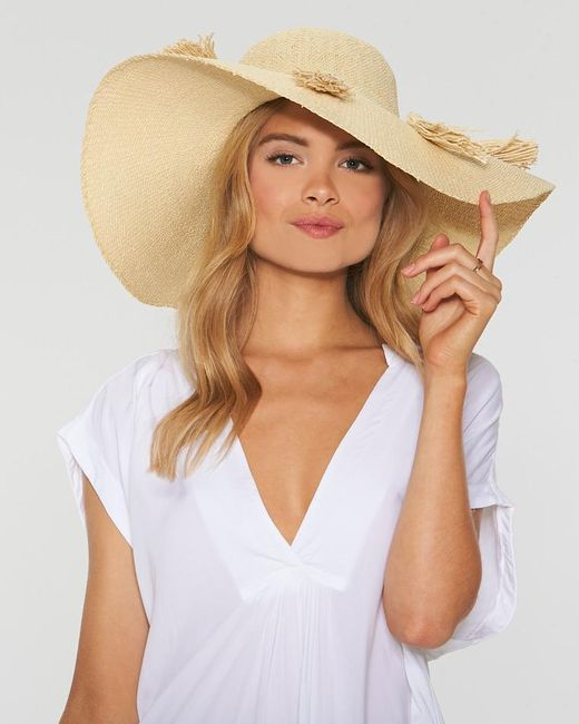 L*Space - Natural Beach Weekend Hat - Lyst