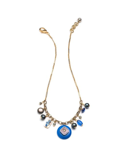 Lulu Frost | Multicolor *vintage* Charm Necklace 3 | Lyst
