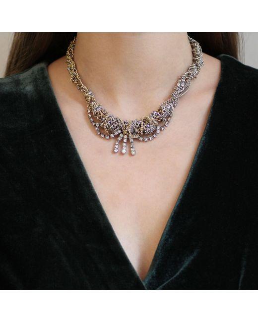 Lulu Frost | Metallic Mezze Necklace | Lyst