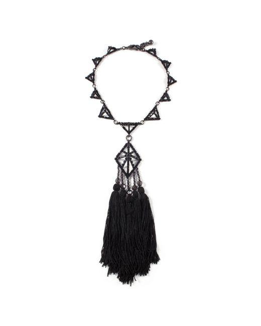 Lulu Frost | Multicolor Helena Tassel Necklace | Lyst