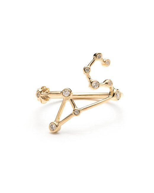 Lulu Frost - Metallic Zodiacs 14k Leo + Fire Ring - Lyst