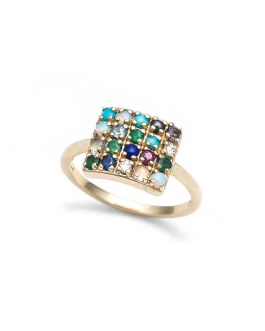 Lulu Frost | Multicolor To Thine Own Self Be True Ring 10kt | Lyst