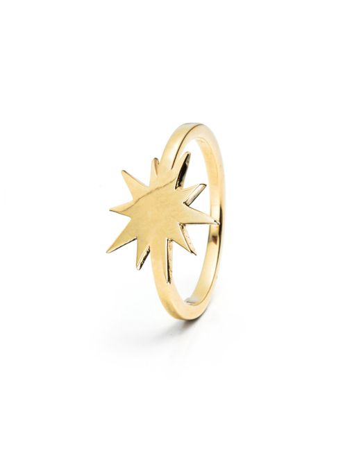 Lulu Frost - Multicolor Code Star Ring 14k Gold - Lyst