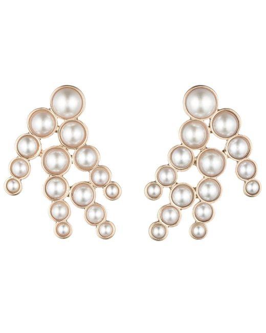 Lulu Frost | Pearl Spray Earring - White | Lyst