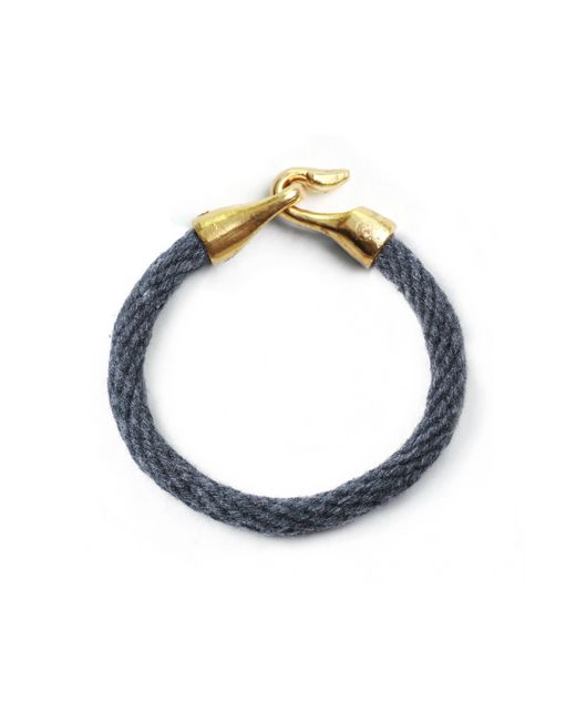 Lulu Frost | Metallic George Frost G. Frost Harpoon Bracelet Navy for Men | Lyst