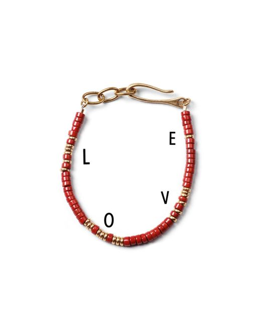 Lulu Frost | Red George Frost G. Frost Morse Bracelet - Love for Men | Lyst