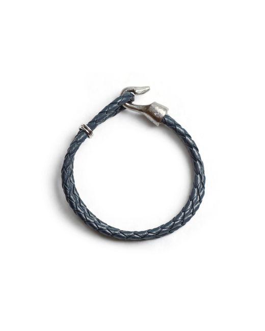 Lulu Frost | Blue George Frost G. Frost Double Harpoon Bracelet Navy for Men | Lyst