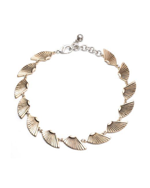 Lulu Frost | Metallic Horizon Midi Necklace | Lyst