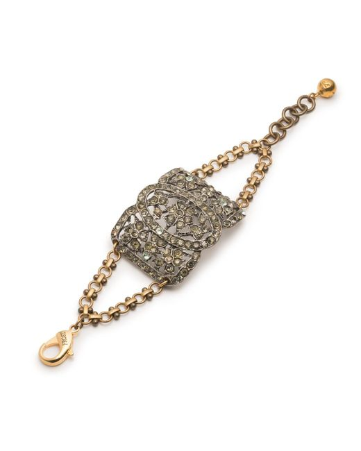 Lulu Frost - Metallic *vintage* Deco Bracelet 1 - Lyst