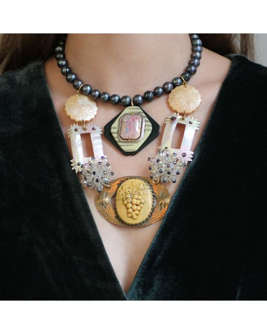 Lulu Frost | Metallic *vintage* 100 Year Necklace 2 | Lyst