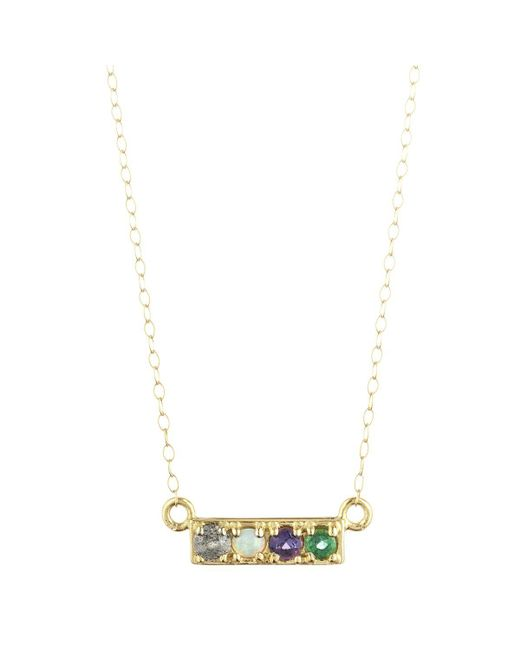 Lulu Frost | Multicolor Love Necklace 14kt | Lyst
