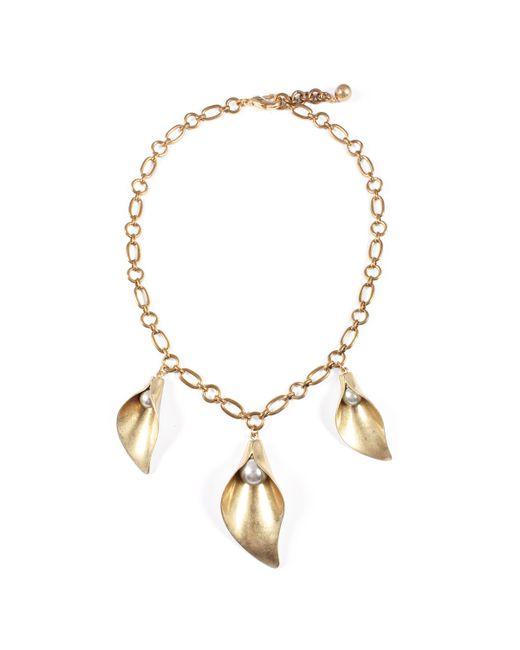 Lulu Frost - Metallic Jardin Drop Necklace - Lyst