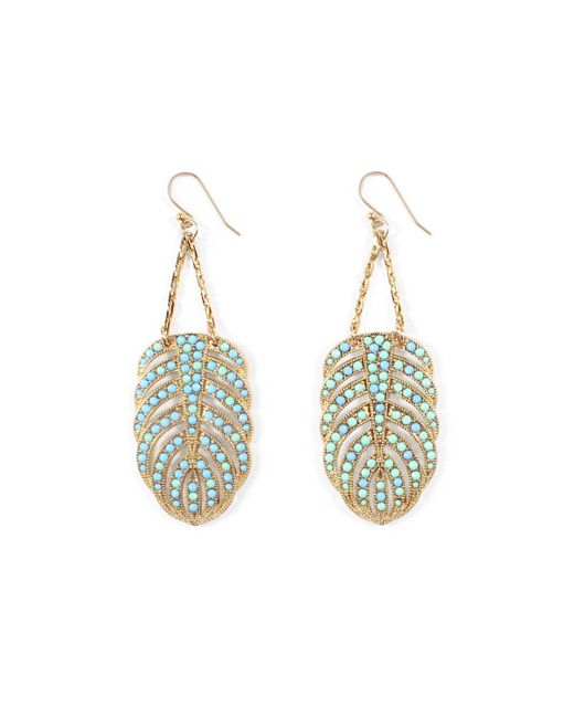 Lulu Frost - Multicolor Hibiscus Earrings - Turquoise - Lyst