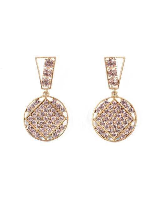 Lulu Frost - Multicolor Bora Crystal Statement Earrings - Lyst