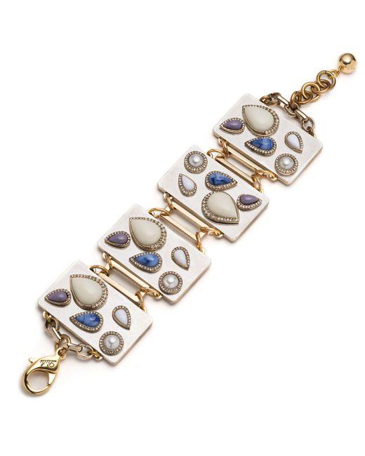 Lulu Frost   Metallic Mia Bracelet   Lyst
