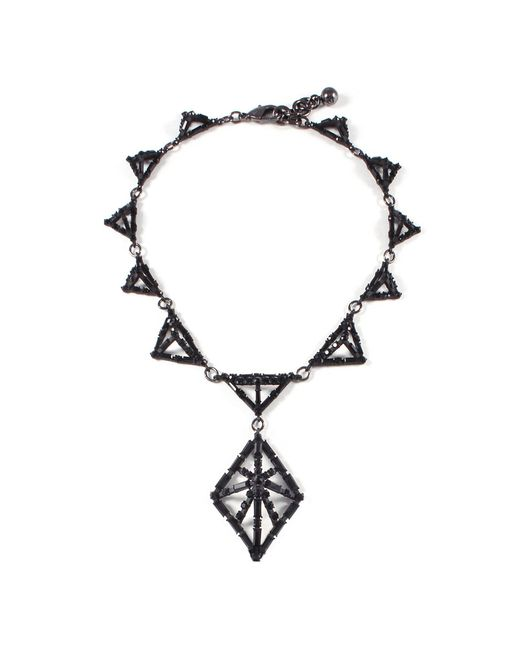 Lulu Frost - Multicolor Helena Black Necklace - Lyst