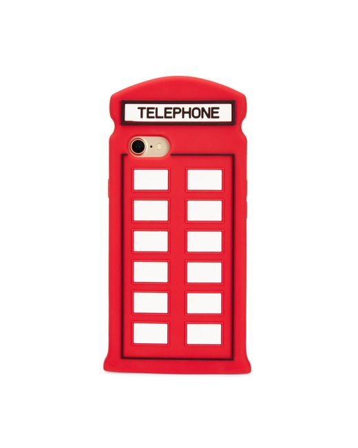 Lulu Guinness | Red Telephone Box Iphone 7 Case | Lyst