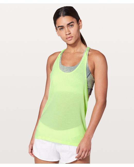 a28ea2e792 ... lululemon athletica - Green Twist   Toil Tank  medium Support For A C d  Cup ...