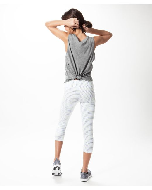 5abae6ee319 ... lululemon athletica - White Rhythmic Crop - Girls - Lyst ...