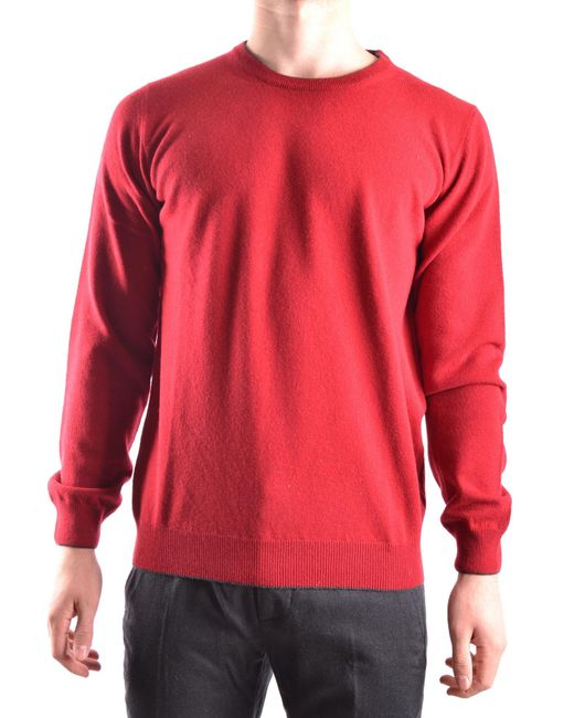 Altea - Red Sweater for Men - Lyst