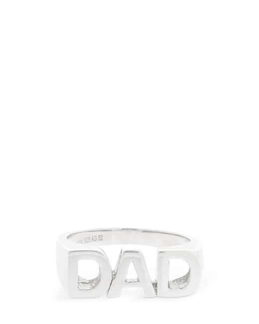 Maria Black - Metallic Dad Ring - Lyst