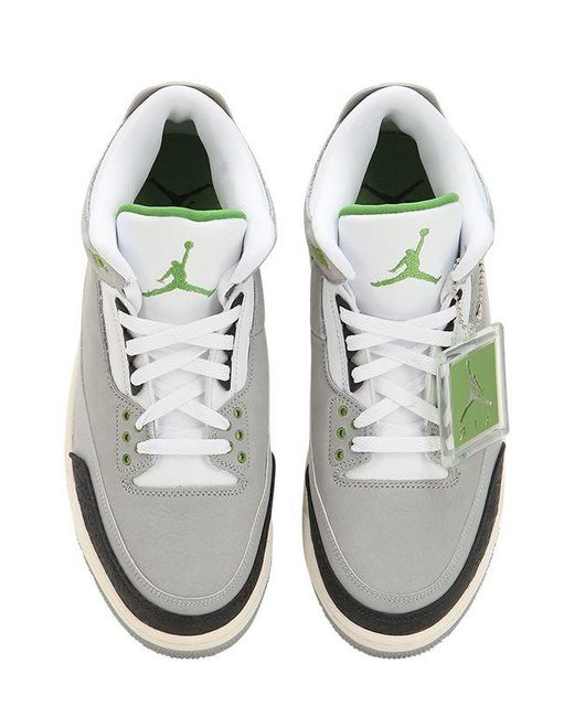 bd160a080 ... Nike - Gray Air Jordan 3 Retro High Top Sneakers for Men - Lyst ...