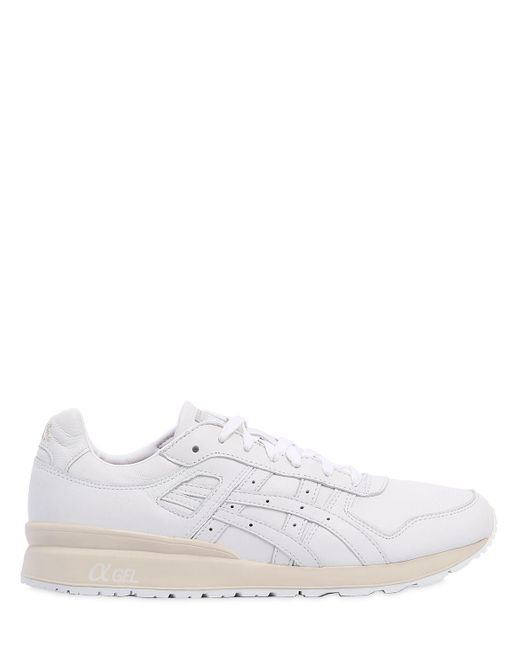 Asics | White Gt-ii Leather Sneakers for Men | Lyst