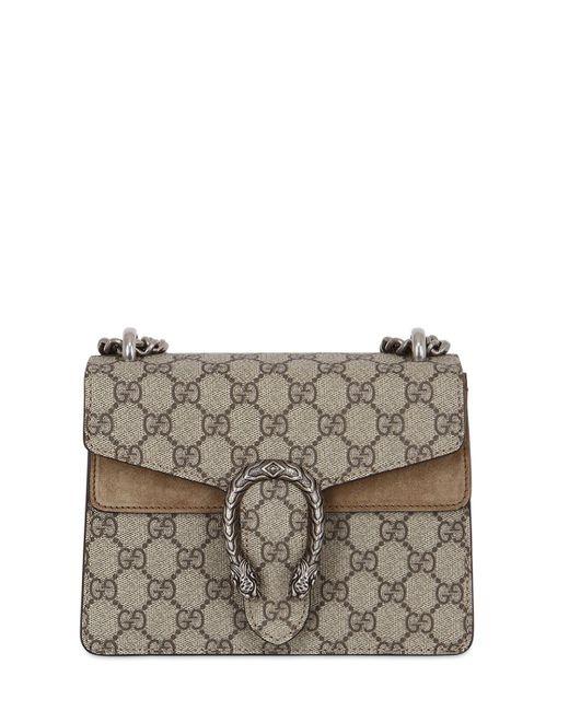 64a7a06bfe5 Gucci Mini Dionysus Gg Supreme Shoulder Bag - Save 12.06896551724138 ...