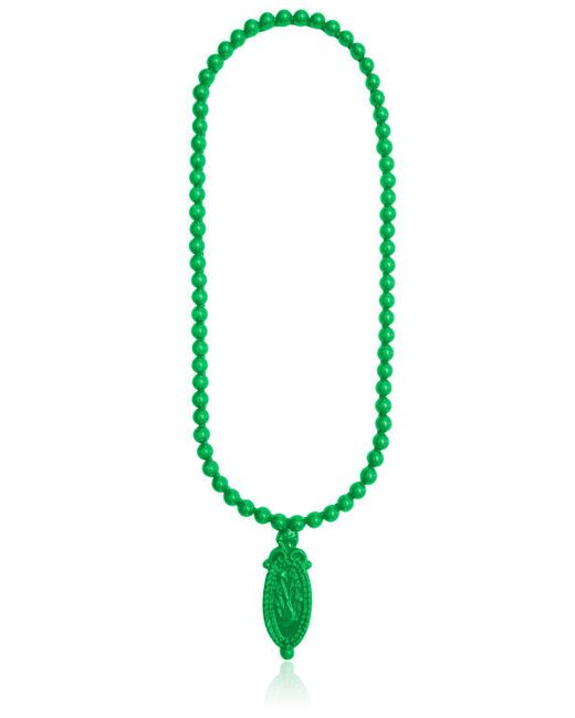 Mariah Rovery | Green Colar Camafeu Necklace | Lyst